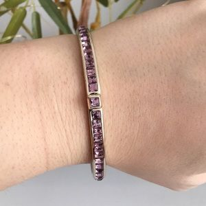 Henri Bendel purple bracelet